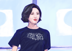 The Presence that is Hwasa by kaichi1342
