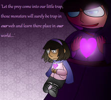 [Undertale] the relative of a spider by poi-rozen