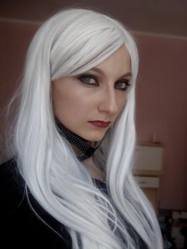 Black Cat unmasked (Spiderman) make up by MartyCos-Art