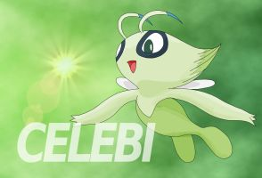 Celebi colored by Voodooreign