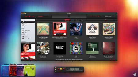 Ice iTunes 10 Theme For OS X by AaronOlive
