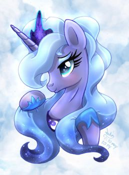 MLP FIM - Younger Luna Is Getting Older Livestream by Joakaha