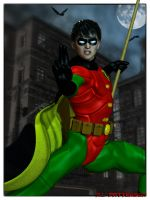 The Boy Wonder by MrSynnerster