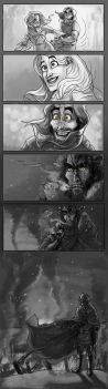 The Broken Man (mini comic) by OFools