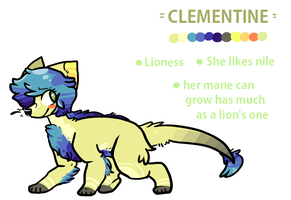 Clementine ref by silly-sweetness