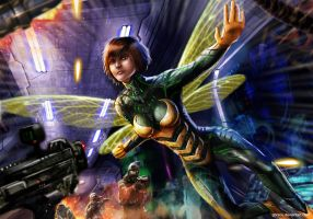 Wasp by gbrsou