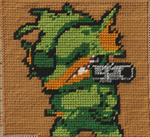 Nuclear-throne-blanket-fish by LoopyWolf