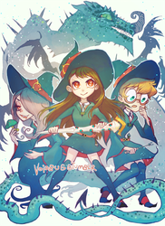 Little Witches by vapidity