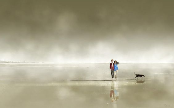 Slow moving, deep breathing. by PascalCampion