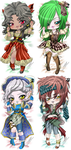 OPEN Lady pirate DakimakurAdopt (points|paypal) by Mokolat-Illustr