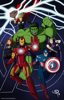 Marvel Cinematic Universe: Phase 1 by Chillguydraws