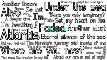 Song Lyrics by Dhiparizky on DeviantArt