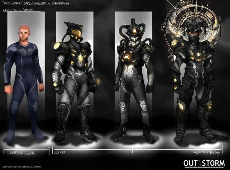 Out of the Storm - Early Concept Design- Final by Cedirvin