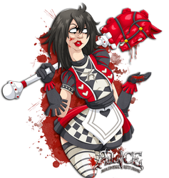 Alice MR - Red Queen by G-Lulu