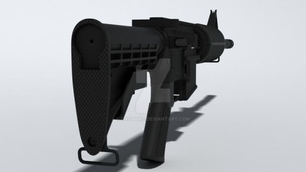 AR-15 wip back-side view by paulwks