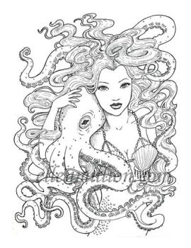 Tentacle Friends by ellenmillion