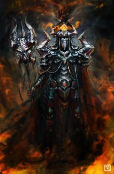 Sauron redesign by WhiteLeyth
