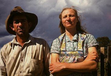 Homesteader Couple II by makepictures
