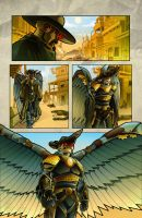 The Legend of Everett Forge First SAMPLE Page by castortroy3497