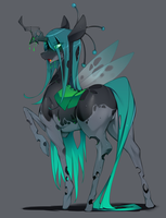 Queen Chrysalis by Slugbox