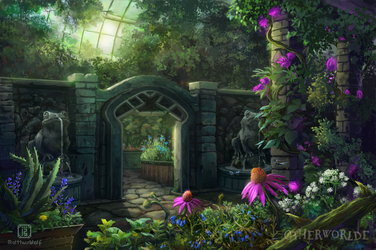 Greenhouse for medicinal herbs by MalthusWolf