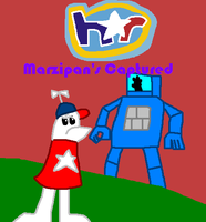 Homestar Runner: Marzipan's Captured comic cover by Luqmandeviantart2000