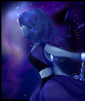 Escapism - LapisLazuli by CatsAreNotBlue