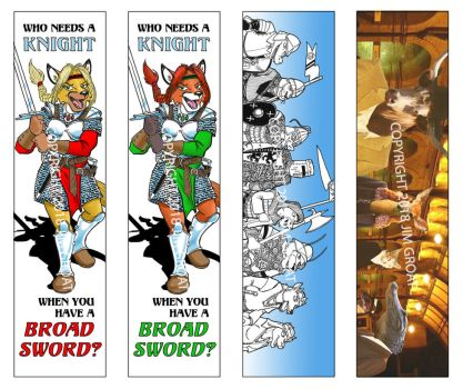 Bookmarks for AnthroCon by RABBI-TOM