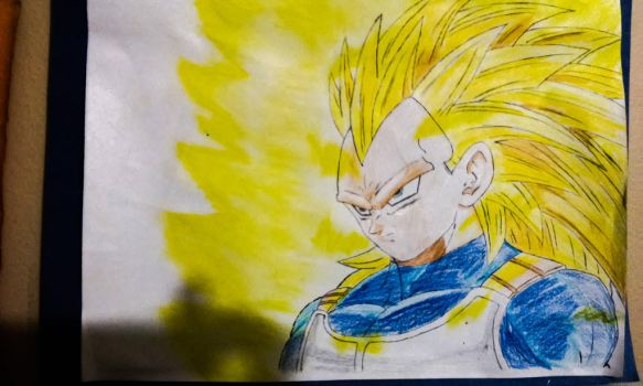 Vegeta Super Saiyan 3 [Alvc57] - Drawed Out. by Alvc57