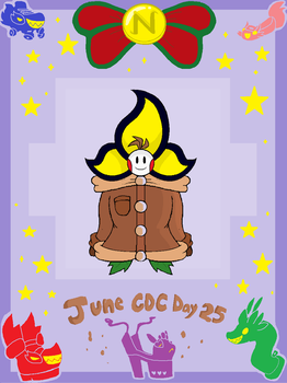 June CDC Day 25 - Doodleman by GigaB00ts