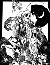 Nightmare Before Christmas by RockyAndreotti