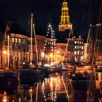 An Evening in December by Oer-Wout