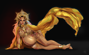 Beyonce Grammys 2017 by ShiftyStorm
