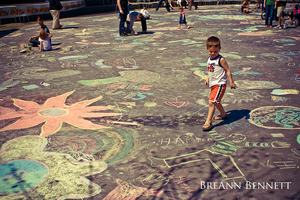GR Chalk Flood 2009-02 by BreAnn