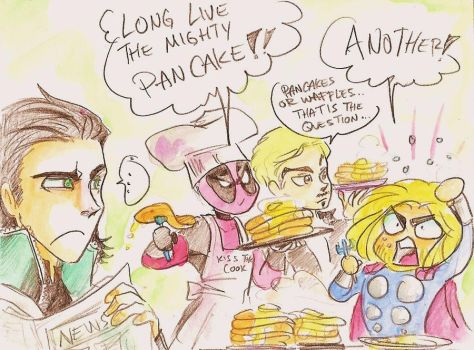 PanCake time! by oasiswinds