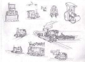 More Trains of Thought by QwertyChris