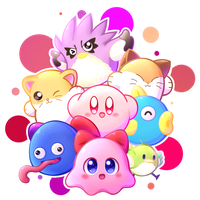Kirby's Dreamland 3 by MegaBuster182