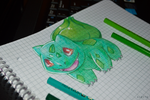 Pokemon: Bulbasaur by ALECT0
