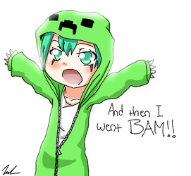Creeper-Fran by zombielover94