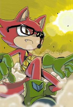 Sonic Forces__ Drawing made by my brother by JyllHedgehog367