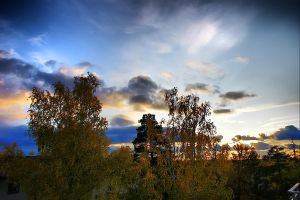 HDR Sunset by stofo