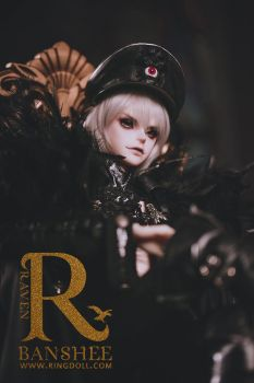 Ringdoll preview of new doll Raven-02 by Ringdoll