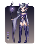 Night Elf - Adopt Auction [CLOSED] by Chemi-ckal