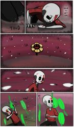 Undertale green Page 26 by FlamingReaperComic