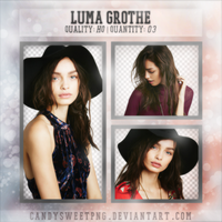 Png Pack 04 : Luma Grothe by CandySweetPng