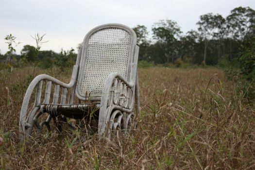 Chair in Field4 by newdystock