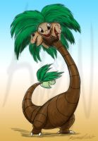 Underrated Pokedexxy #3--Alolan Exeggutor by Kineil-Wicks