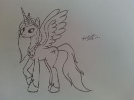 Sketch2: MLP Princess Aiclo by Aiclo