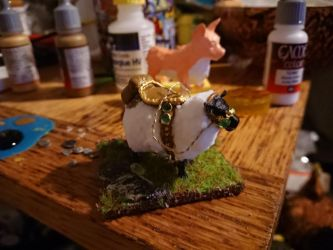 Idea for a wooly sheep mount in world of warcraft! by Karpizard-Prints