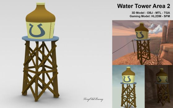 Water Tower Area 2 by VeryOldBrony